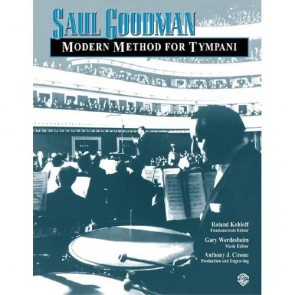 Modern Method for Tympani [Book] by Saul Goodman