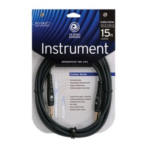 Planet Waves Custom Series Instrument Cable, 15 feet