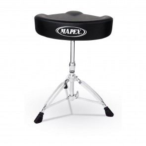 Mapex T575A Double Braced Throne with Saddle-Style Cushioned Seat