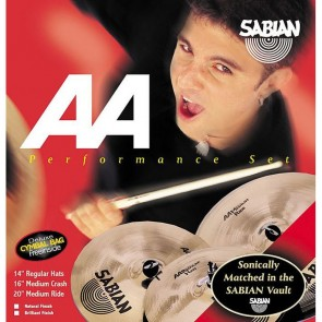 Sabian AA Performance Set Brilliant Finish