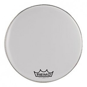 Remo Crimplock®, Emperor®, Smooth White™, 24'' Bass Drumhead