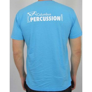 Columbus Percussion 30th Anniversary Shirt - Blue