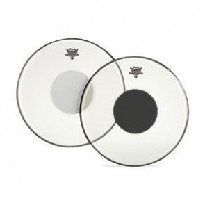 """Remo 8"""" Clear Controlled Sound Batter Drumhead w/ Black Dot"""