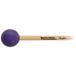 Innovative Percussion Christopher Lamb Xylophone Mallets Hard Bright/Purple Rattan