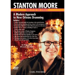 Stanton Moore - Take It To The Street: A Traditional Approach To New Orleans Drumming - DVD Video