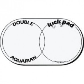 Aquarian DKP2 Double Bass Drum Kick Pad