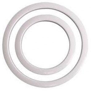 """Gibraltar 5"""" Port Hole Protector in White"""