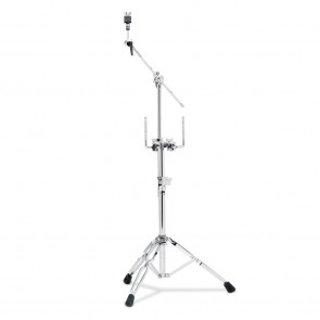 DW Drums 9000 Series Double Tom Stand with 934 Cymbal Arm (DWCP9934)