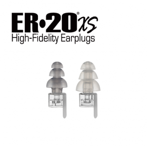 ER20XS Large Low-Profile Earplugs