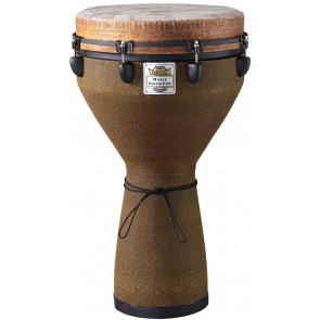 "Remo Key Tuned Djembe 14"" Diameter, 25"" Height in Fabric Earth"