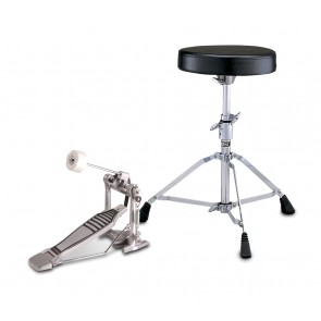 FP-6110 foot pedal and DS-550 drum throne package