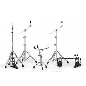 Mapex Armory Hardware PackChrome w/ P800TW Double Pedal