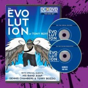 Drum Channel - The Evolution of Tony Royster Jr. - 2 DVD set