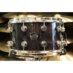 DW Drum Workshop Performance Series 8x14 Maple Snare Drum in Ebony Stain Lacquer