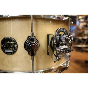 DW Drum Workshop Performance Series 6.5x14 Maple Snare Drum in Natural Clear Lacquer