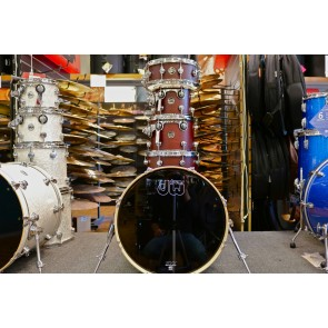 "DW Drum Workshop Performance Series 10"" 12"" 14"" 20"" with 5.5x14"" Snare Shell Pack - Tobacco Stain"