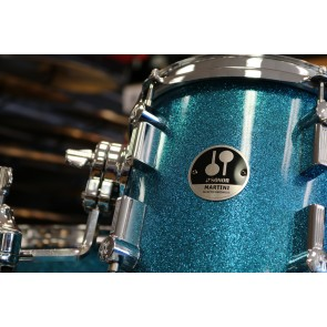 Sonor Special Edition Series Martini Shell Pack in Turquoise Galaxy Sparkle