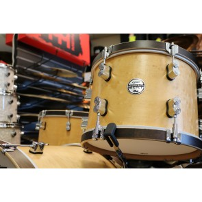 PDP Concept Maple Classic Shell Pack in Matte Natural Finish with Walnut Stain Hoops