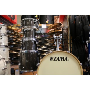 Tama Superstar Classic Drum Set in Midnight Gold Sparkle with Hardware