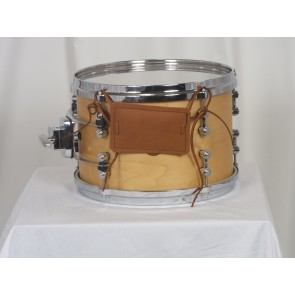 Brown Leather Snare Bumper