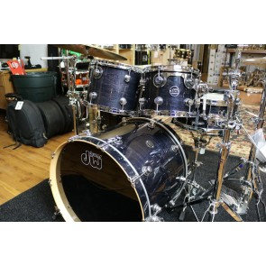 DW Drum Workshop Performance Series Drum Set in Ebony Stain