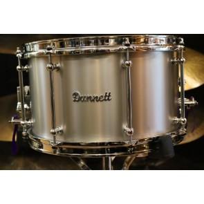 Dunnett Classic Titanium Snare Drum - Raw Finish