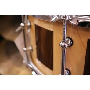 HCD Holloman Custom Maple Walnut 6X14 Snare Drum