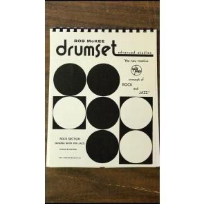Bob McKee Drumset Advanced Studies - Split Page Rock and Jazz Book