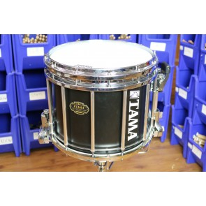 Tama 12X14 Marching Snare Drum in Satin Black