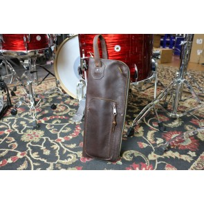 Woodshed Leatherworks Basic Brown Leather Stick Bag