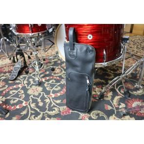 Woodshed Leatherworks Basic Black Leather Stick Bag