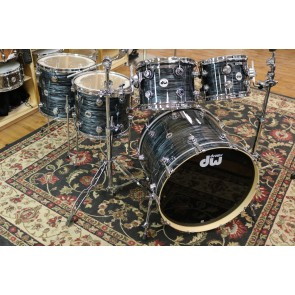 DW Collectors Series Maple Kit, Grey Oyster w/ Chrome Hardware, 8x10, 9x12, 12x14 Floor, 14x16 Floor, 18x22 Bass