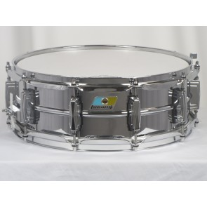 "Ludwig 5"" x 14"" Chrome Over Brass Snare Drum B-Stock"