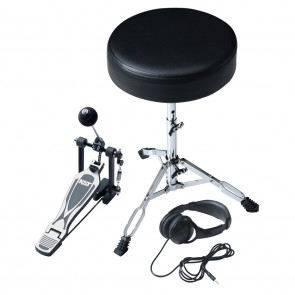 KAT Percussion Throne, Headphones, & Pedal Add-on Pack