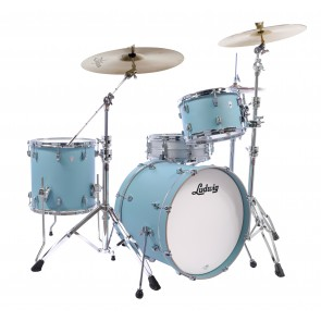 Ludwig Neusonic 3 piece in Skyline Blue 8x12, 16x16, 16x22