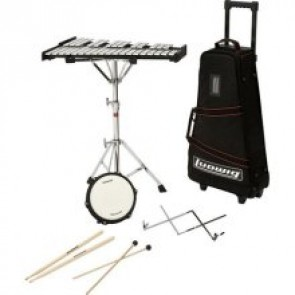 Ludwig M651R Educational Bell with Rolling Bag