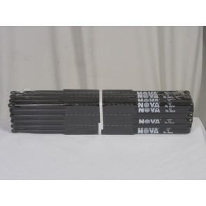 Vic Firth 7A in black with NOVA imprint - Brick - 12 Pairs