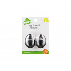 Nino Pair of Egg Shakers - Black