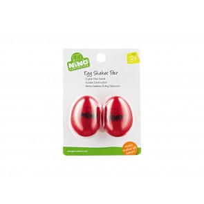 Nino Pair of Egg Shakers - Red