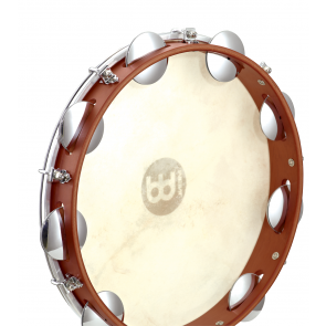 "Meinl Wood Pandeiro 10"" Goat Skin Head Chest Nut"