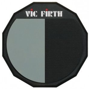 "Vic Firth 12"" Single Sided Split Surface Practice Pad"