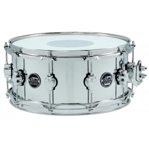 DW Drum Workshop Performance Series 6.5X14 Chrome Over Steel Snare