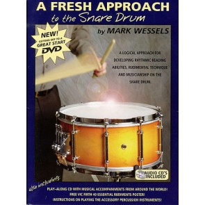 A Fresh Approach to Snare Drum with CD by Wessels