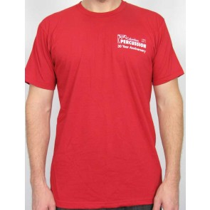 Columbus Percussion 30th Anniversary Shirt - Red