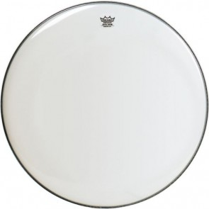 """Remo 30"""" Smooth White Emperor Bass Drumhead"""
