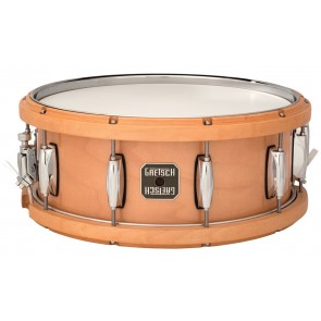 Gretsch 5.5X14 Maple Contoured Wood/Metal Batter Hoop Snare Drum