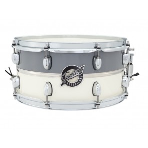 Gretsch 6.5X14 Retro-Luxe Pewter/White Snare