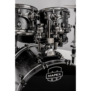 "Mapex Saturn IV Black Chrome Bass Drum Mount Assembly 20""x16"""