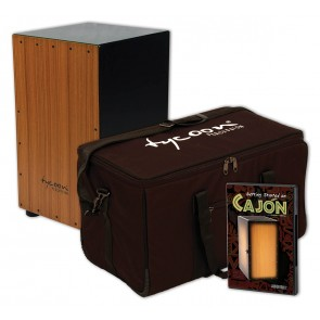 Tycoon Supremo 29 Series Cajon with Bag and Getting Started on Cajon DVD