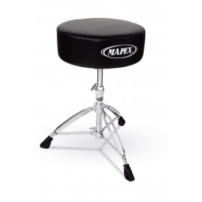 Mapex Round Top Drum Throne Double Braced
